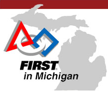 FIRST robotics in Michigan logo