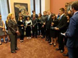 Dreadbots with Senator Debbie Stabenow